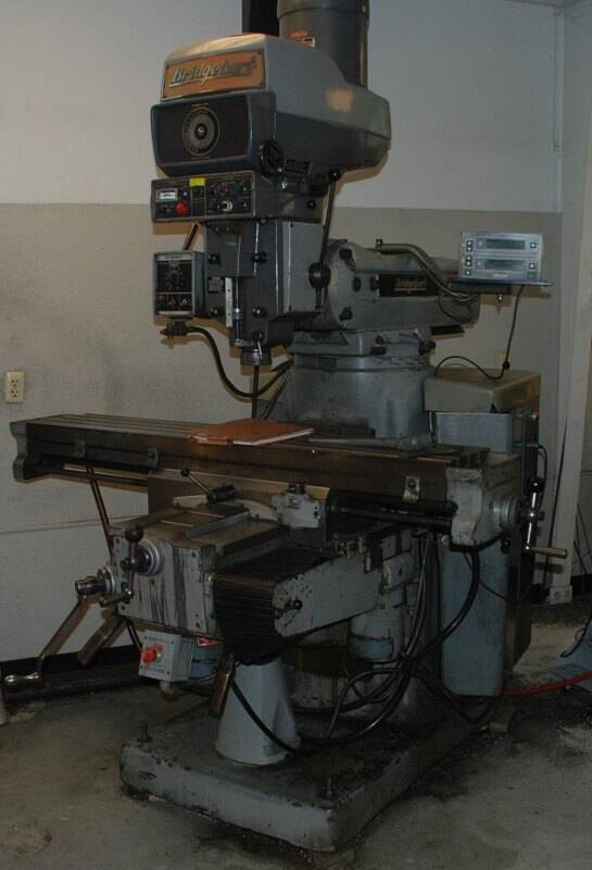 Bridgeport Mill For Sale >> Bridgeport Series Ii Vertical Milling Machine For Sale Sold