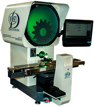 16H CNC optical comparator