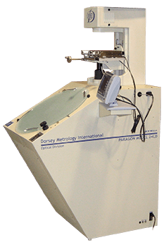 24LD optical comparator with digital readout