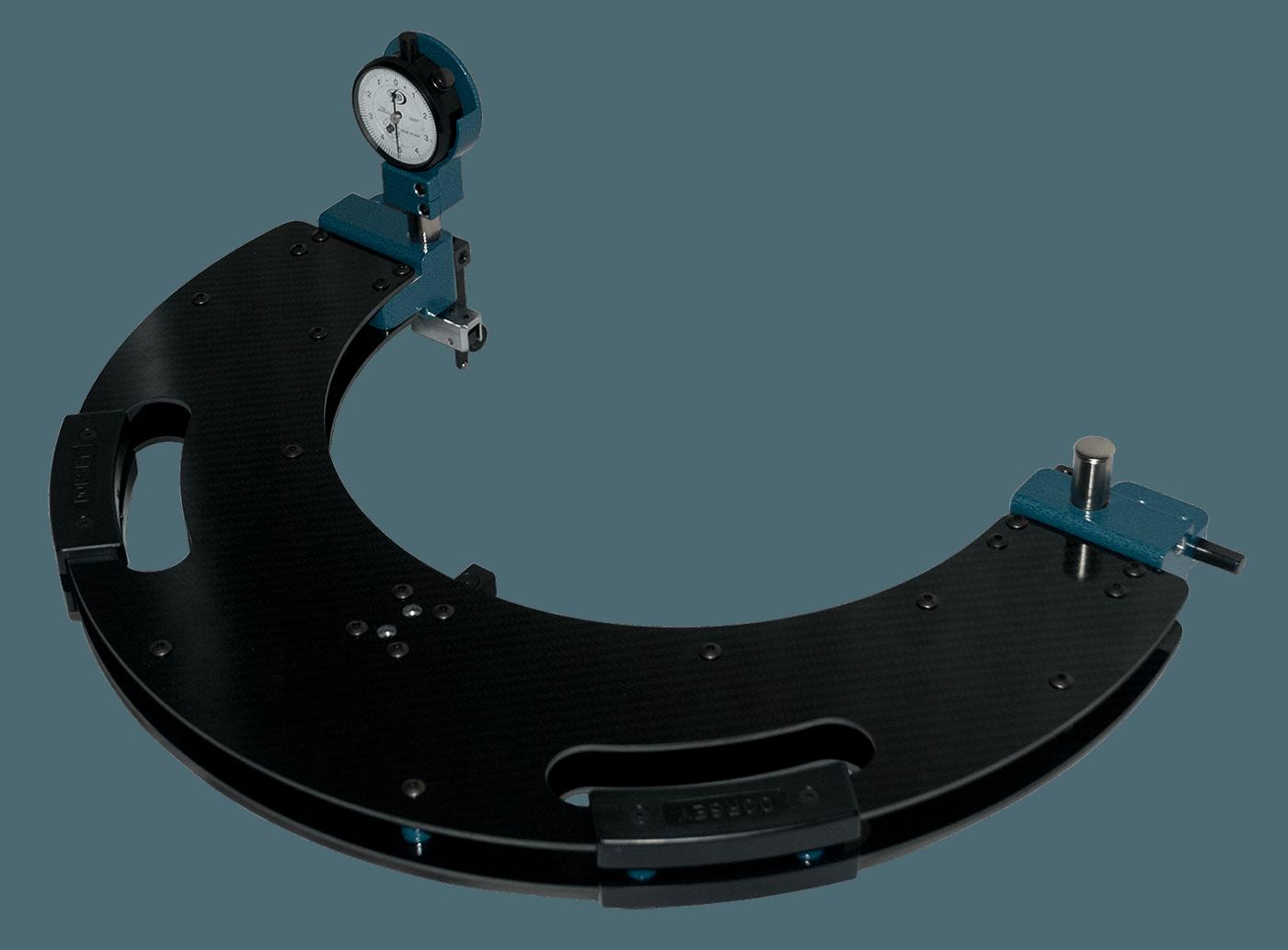 Carbon Fiber C-Frame Large Diameter Gage